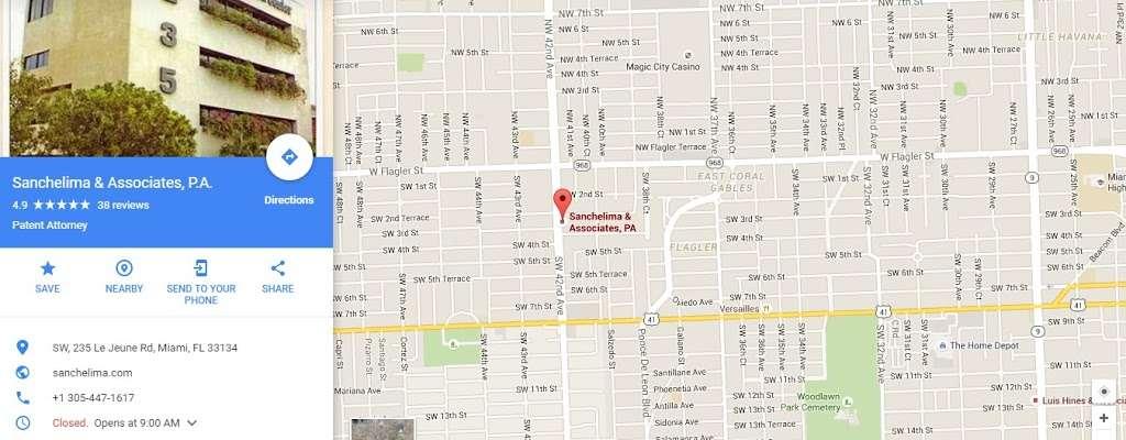 Sanchelima & Associates, P.A. - lawyer    Photo 4 of 6   Address: 235 S Le Jeune Rd, Miami, FL 33134, USA   Phone: (305) 447-1617