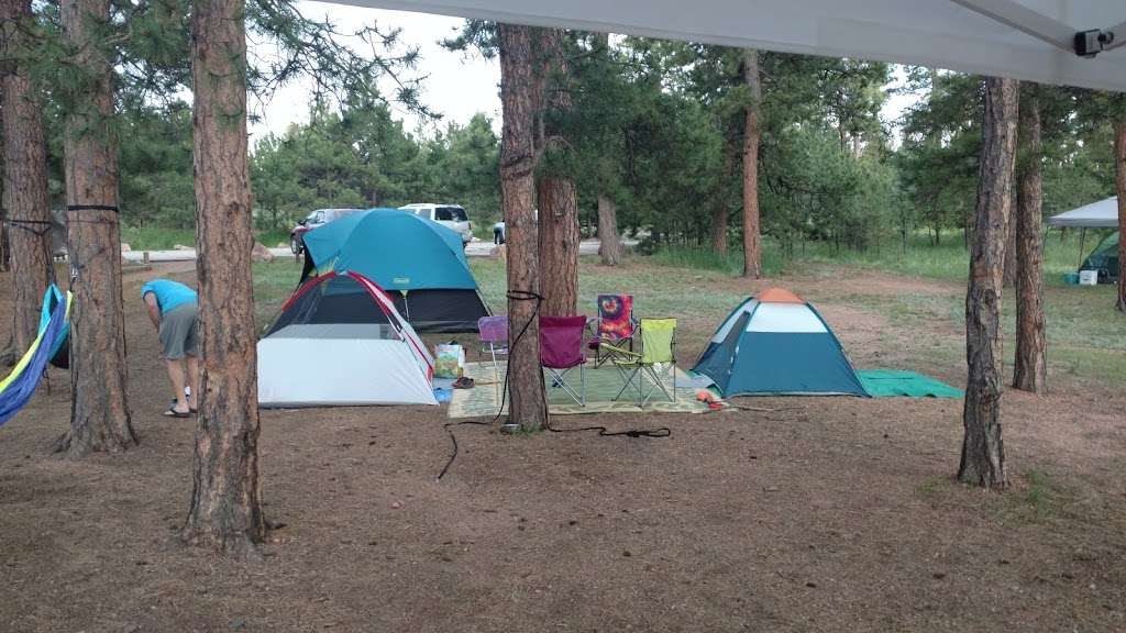 Pike Community Group Campground - campground    Photo 1 of 10   Address: CO-67, Woodland Park, CO 80863, USA   Phone: (719) 636-1602