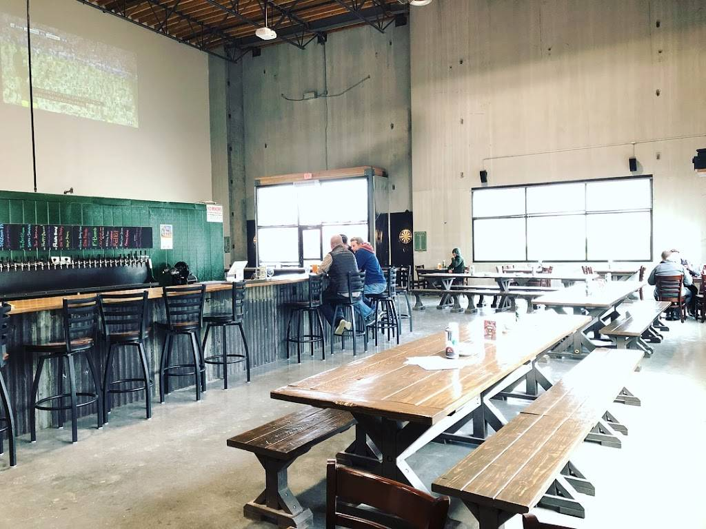 Stickmen Brewing Company (Tualatin Beer Hall) - restaurant  | Photo 5 of 9 | Address: 19475 SW 118th Ave Suite 1, Tualatin, OR 97062, USA | Phone: (503) 486-7197