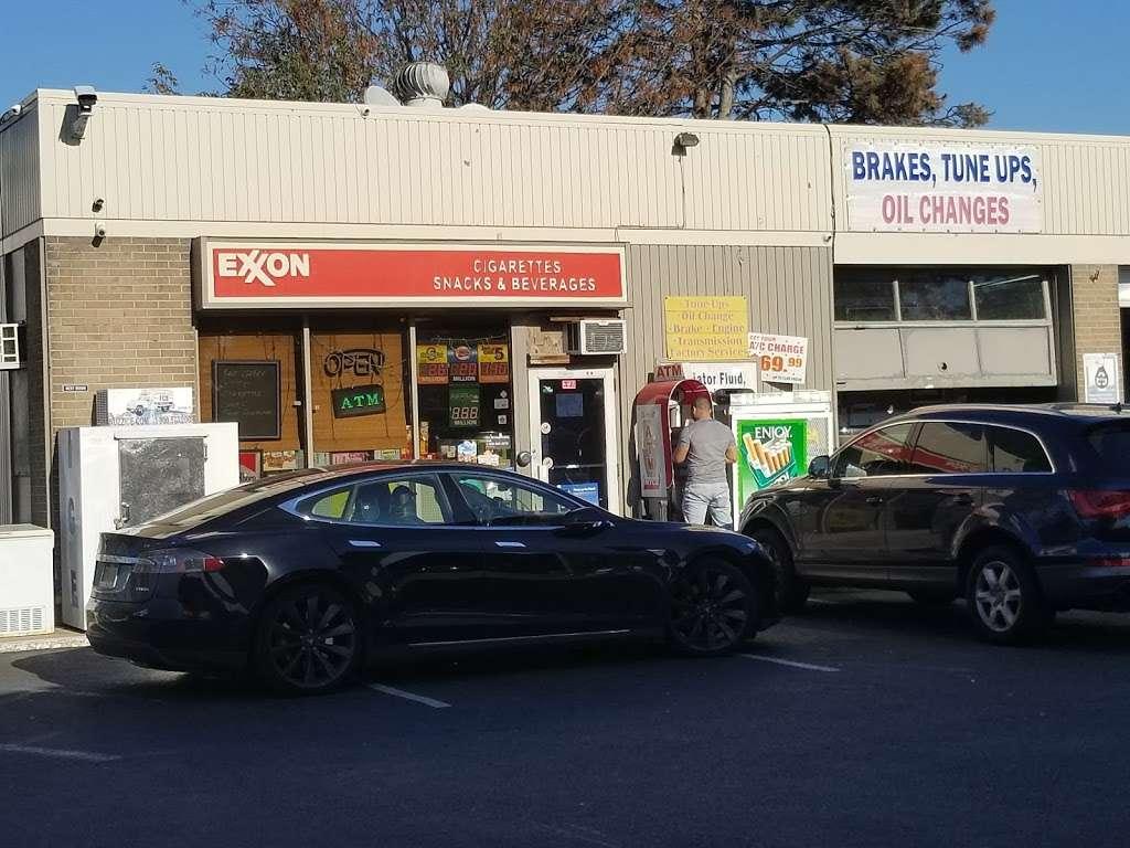 Exxon - gas station  | Photo 1 of 10 | Address: 1104 US-1, Linden, NJ 07036, USA | Phone: (908) 862-2330