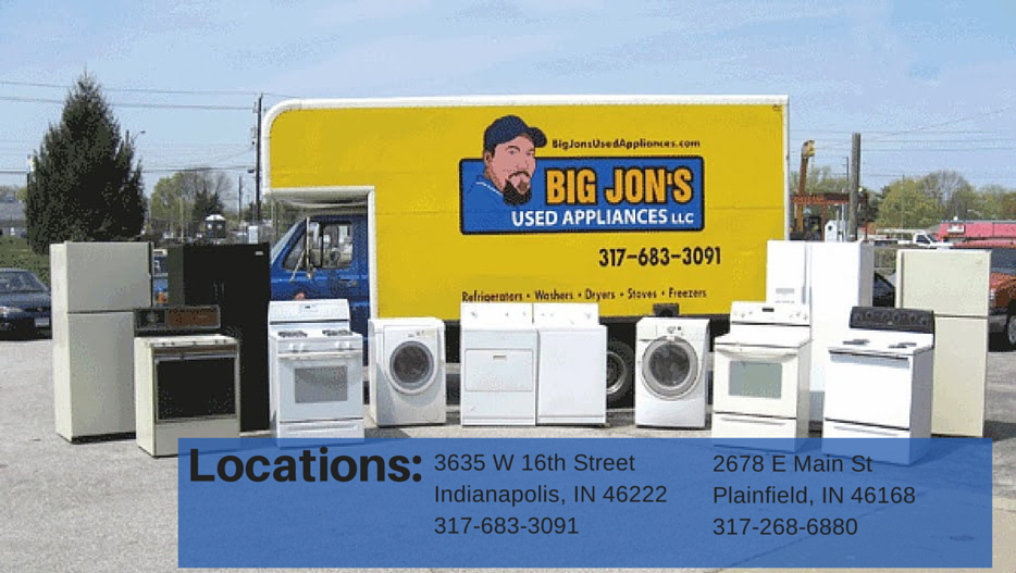 Big Jons Used Appliances - home goods store    Photo 7 of 9   Address: 2678 E Main St, Plainfield, IN 46168, USA   Phone: (317) 268-6880