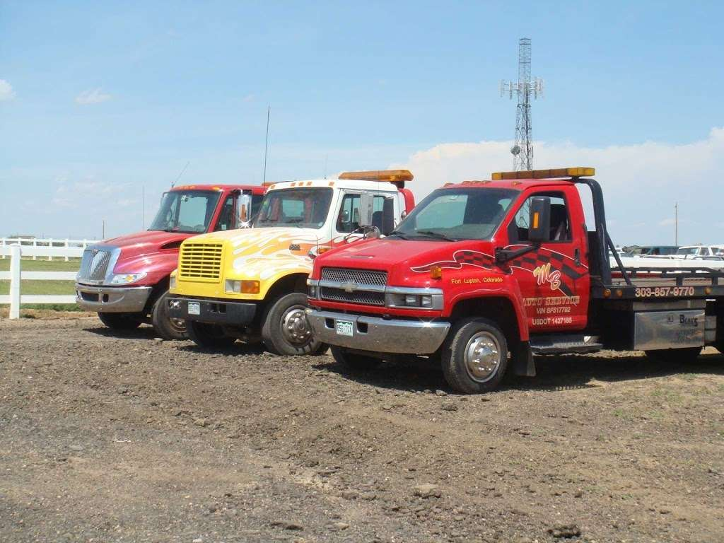 M B Towing Services - car repair  | Photo 4 of 4 | Address: 2732 Co Rd 27, Fort Lupton, CO 80621, USA | Phone: (303) 857-9770