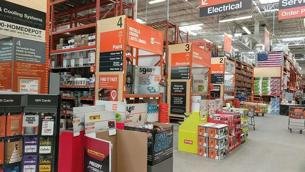The Home Depot - hardware store  | Photo 1 of 10 | Address: 1055 Paterson Plank Rd, Secaucus, NJ 07094, USA | Phone: (201) 271-1200