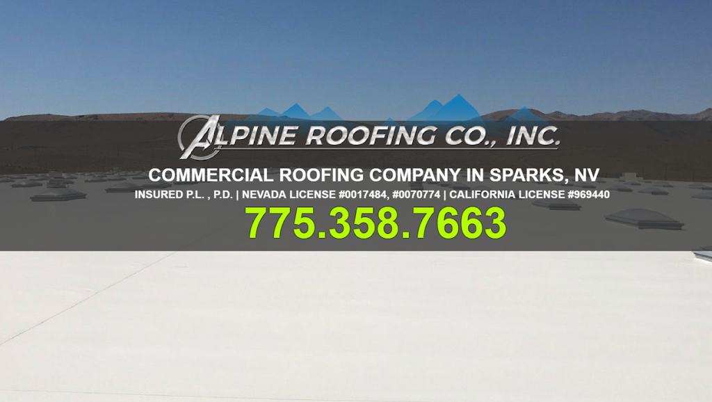 Alpine Roofing Co., Inc. - roofing contractor    Photo 1 of 9   Address: 25 Greg St, Sparks, NV 89431, USA   Phone: (775) 358-7663