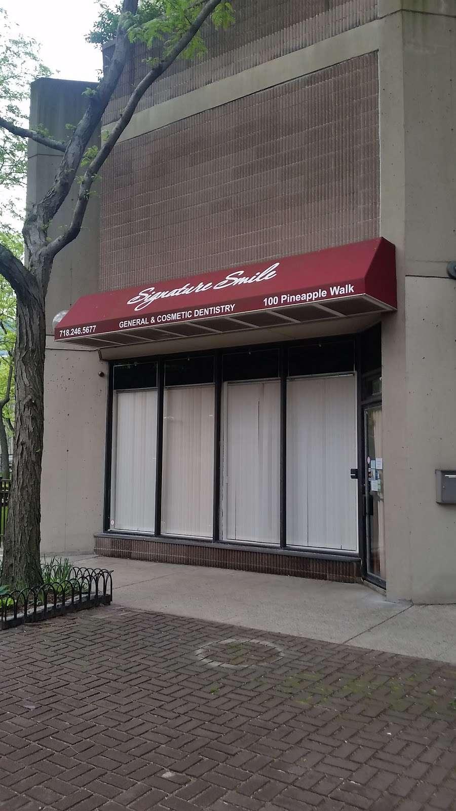 Signature Smile Dental - dentist  | Photo 3 of 8 | Address: 100 Pineapple Walk, Brooklyn, NY 11201, USA | Phone: (718) 246-5677