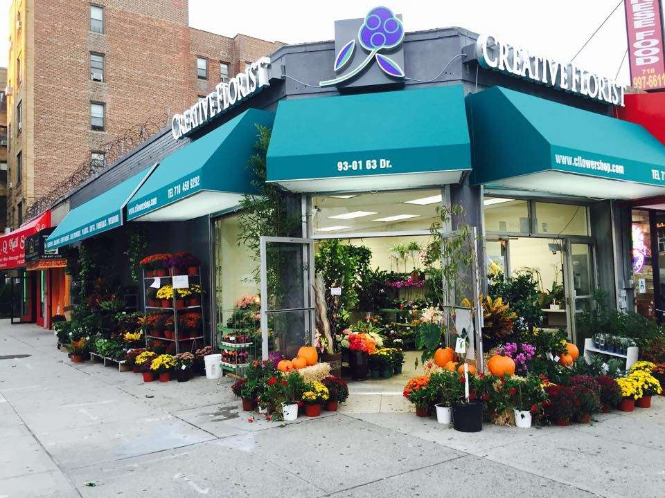 Creative Florist - florist    Photo 1 of 10   Address: 93-01 63rd Dr, Rego Park, NY 11374, USA   Phone: (718) 459-9292
