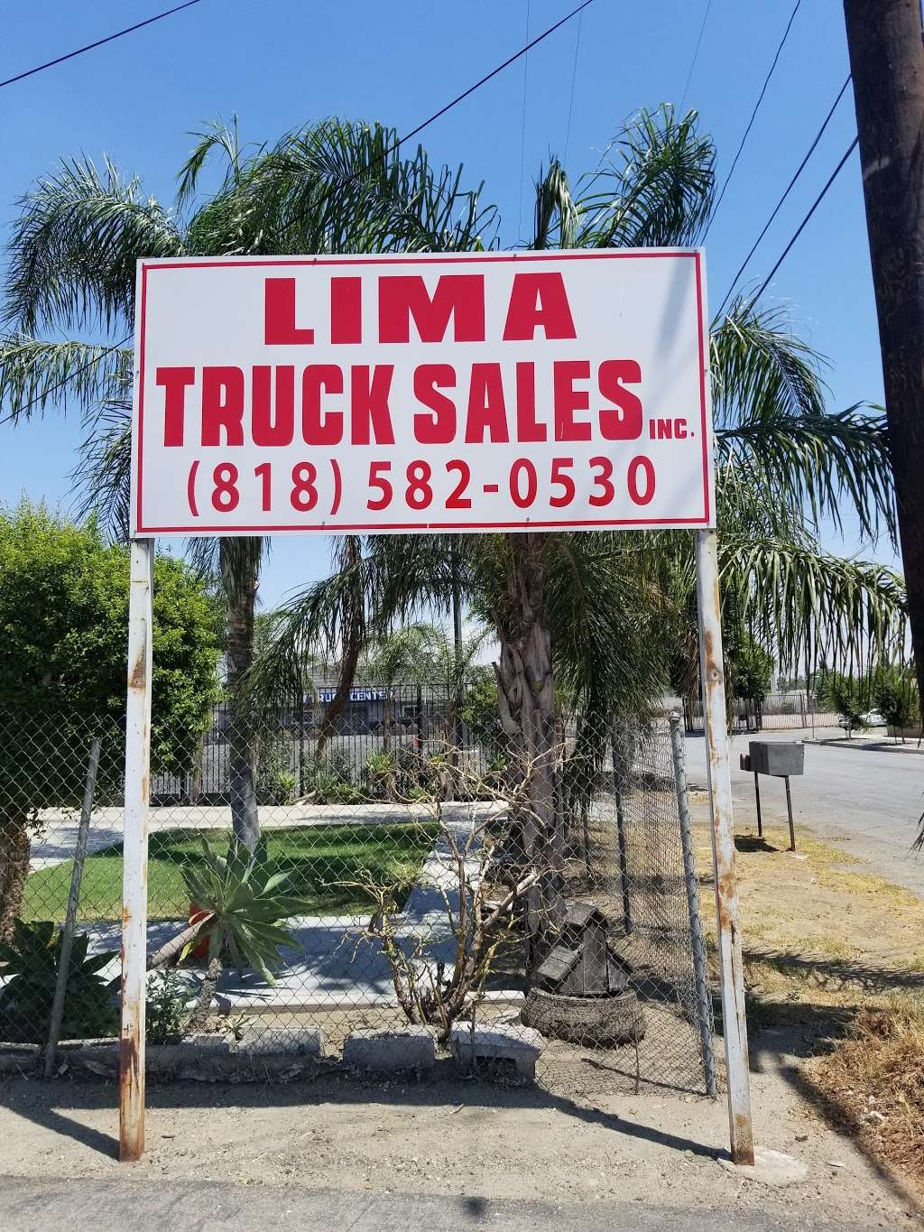 Lima Truck Sales, Inc. - store  | Photo 1 of 1 | Address: 15264 Boyle Ave, Fontana, CA 92337, USA | Phone: (818) 582-0530