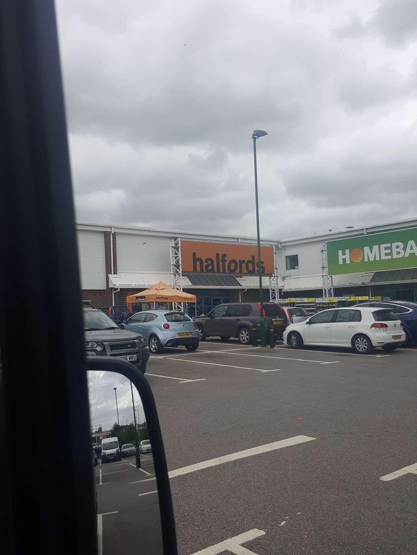 Halfords - bicycle store    Photo 9 of 9   Address: Sevenoaks Retail Park, Old Otford Rd, Sevenoaks TN14 5EW, UK   Phone: 01732 454148