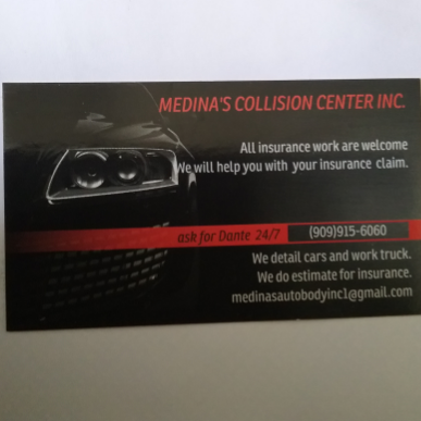 Medinas Collision Center Inc. - car repair  | Photo 3 of 9 | Address: 703 S Gifford Ave #220, San Bernardino, CA 92408, USA | Phone: (909) 915-6060