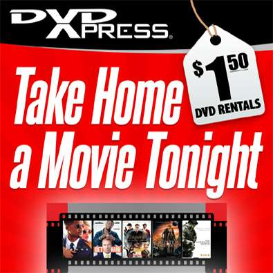 DVDXpress Kiosk @ ACME Markets - movie rental  | Photo 1 of 1 | Address: 481 River Rd, Edgewater, NJ 07020, USA | Phone: (201) 840-8006