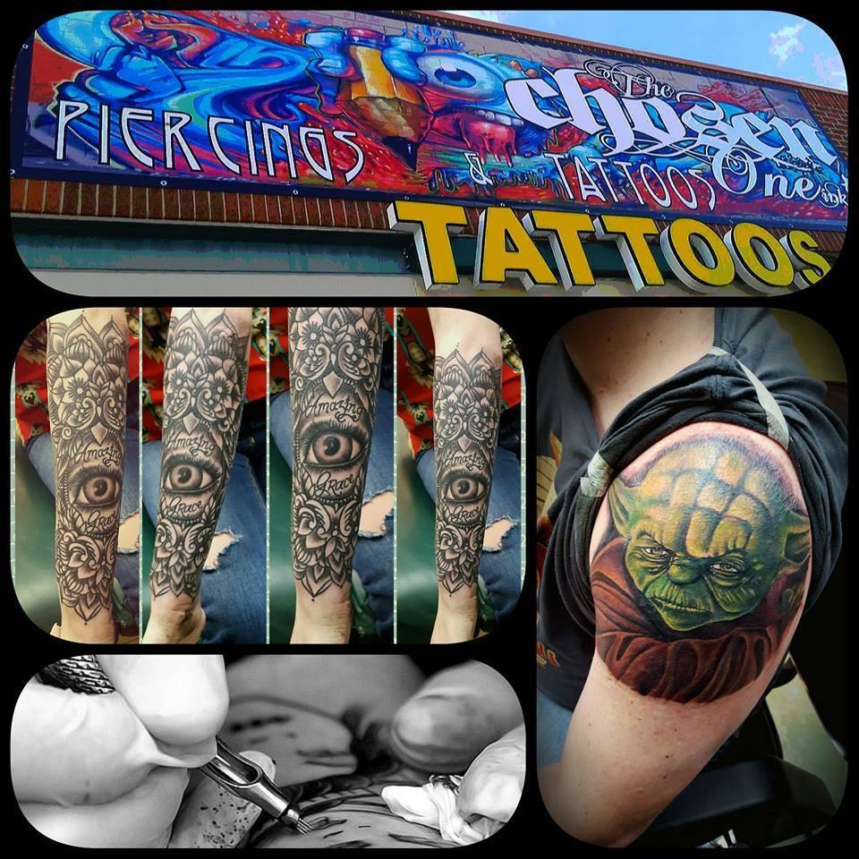 The Chosen One Ink Tattoo - art gallery  | Photo 4 of 9 | Address: 2501 E Mayfield Rd #119, Arlington, TX 76014, USA | Phone: (817) 277-5199