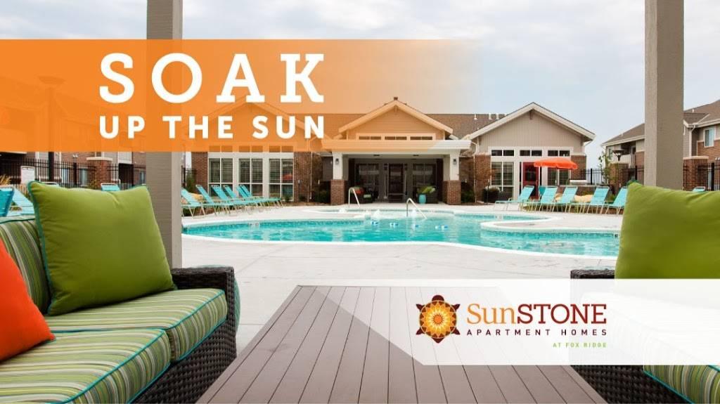 SunSTONE Apartment Homes at Fox Ridge - real estate agency    Photo 2 of 10   Address: 3540 N Maize Rd, Wichita, KS 67205, USA   Phone: (316) 558-5200