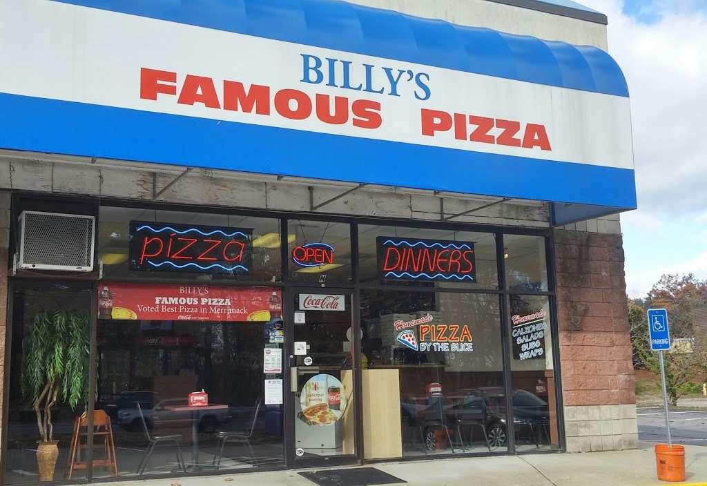 Billys Famous Pizza - restaurant  | Photo 3 of 7 | Address: 380 Daniel Webster Hwy, Merrimack, NH 03054, USA | Phone: (603) 424-4077