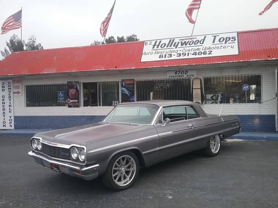 EZ Hollywood Tops Auto Restyling - car repair    Photo 10 of 10   Address: 4700 Causeway Blvd, Tampa, FL 33619, USA   Phone: (813) 391-4062