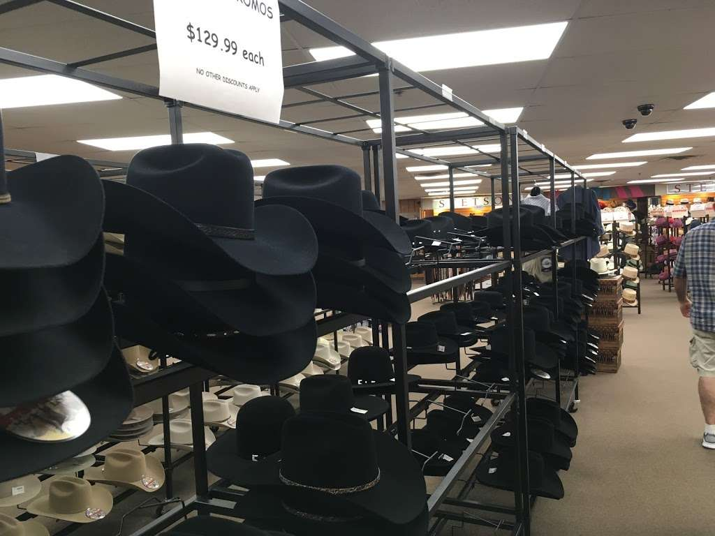 Stetson Hat Co Outlet Store - clothing store    Photo 9 of 10   Address: 3601 S Leonard Rd, St Joseph, MO 64503, USA   Phone: (816) 233-3286