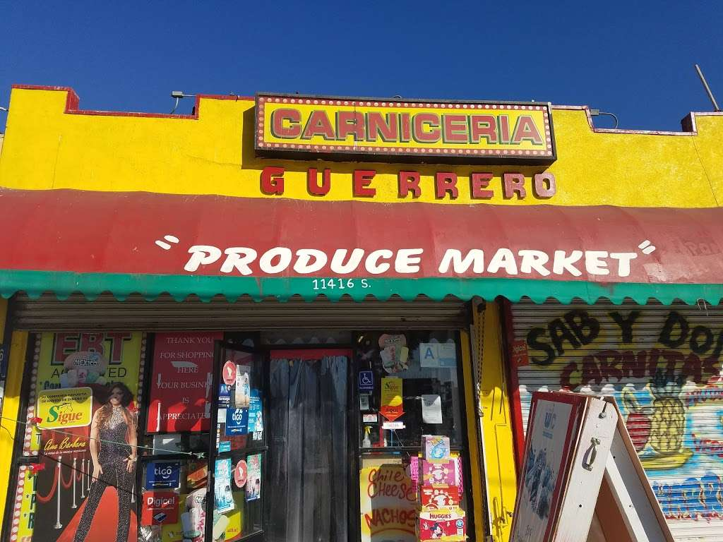 El Guerrero Carniceria - store  | Photo 1 of 5 | Address: 11416 Vermont Ave, Los Angeles, CA 90044, USA | Phone: (323) 242-9343