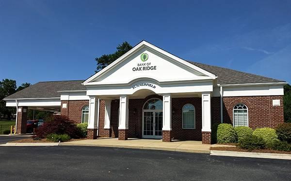 Bank of Oak Ridge - bank    Photo 1 of 3   Address: 4423 US-220, Summerfield, NC 27358, USA   Phone: (336) 644-7310