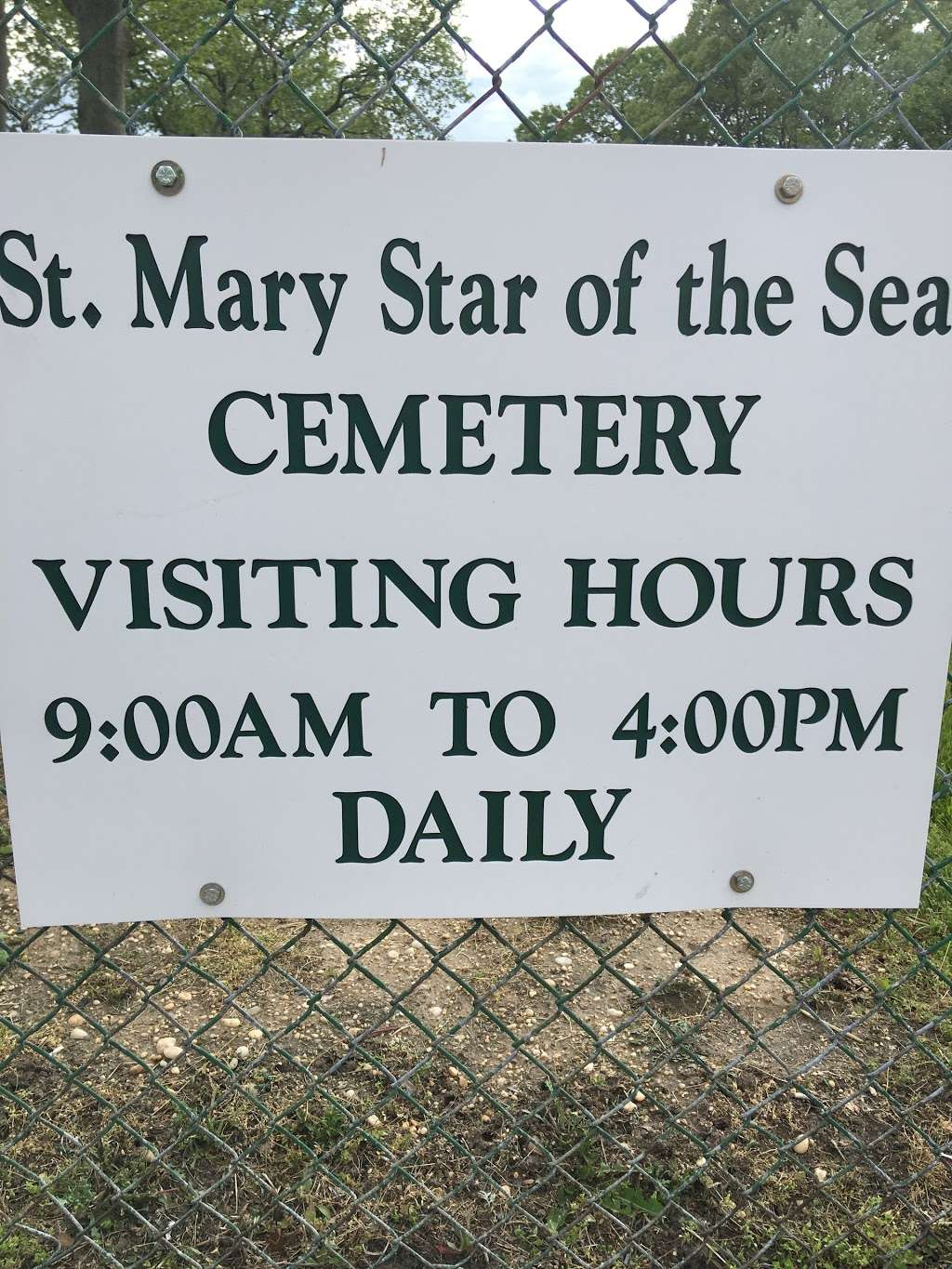 St Mary Star of the Sea - cemetery  | Photo 1 of 1 | Address: Rockaway Turnpike, Lawrence, NY 11559, USA | Phone: (516) 239-8296