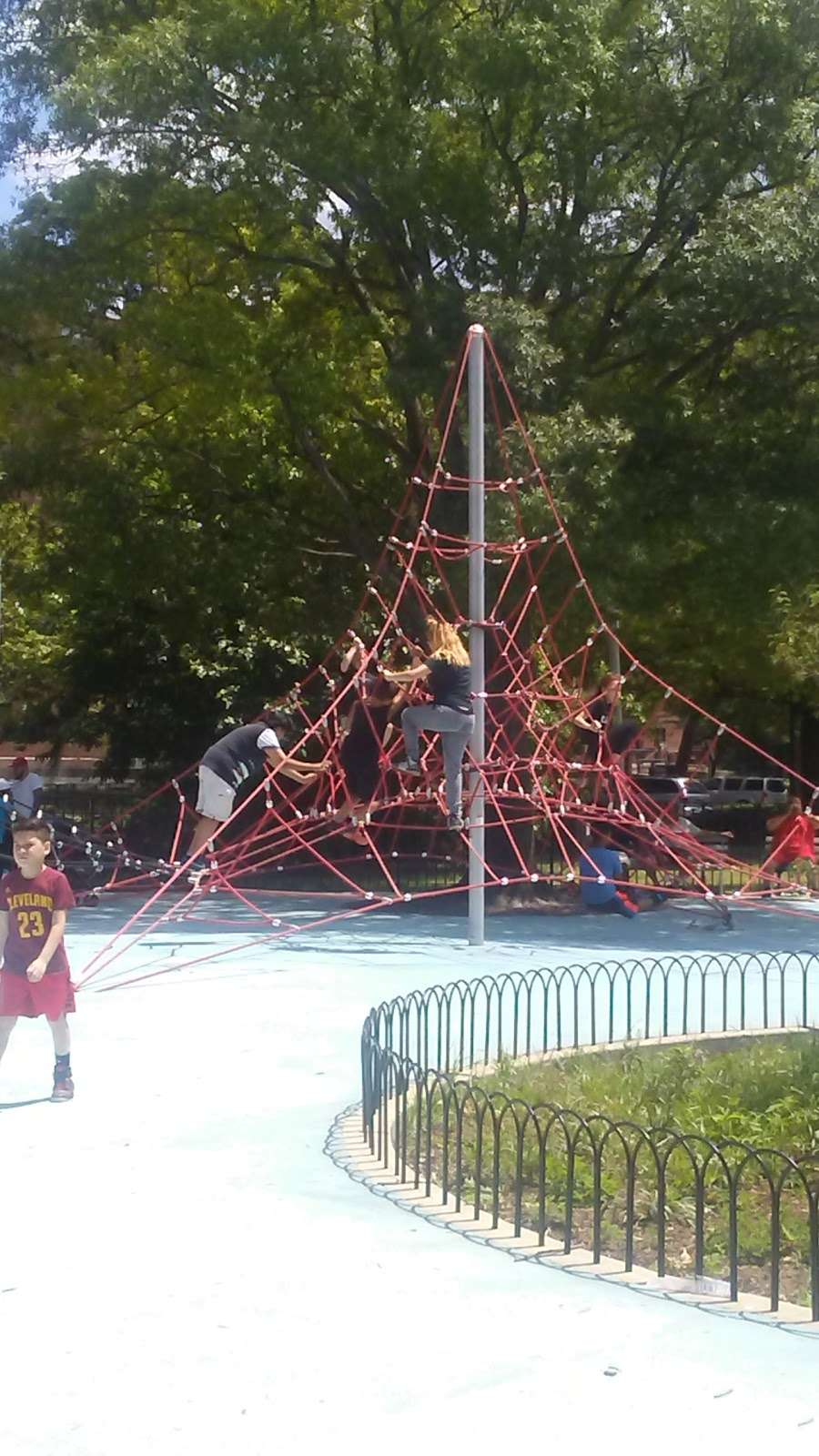 Soundview Park Outdoor Fitness Equipment - gym    Photo 3 of 10   Address: Lafayette Ave, Bronx, NY 10473, USA   Phone: (212) 639-9675