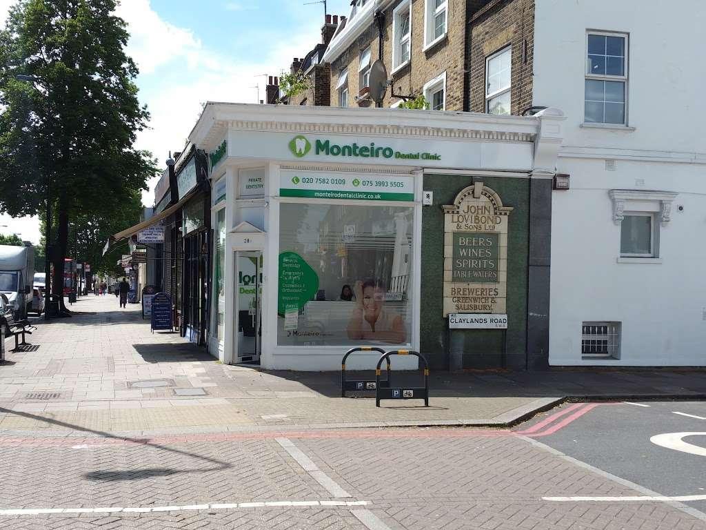 Monteiro Dental Clinic - dentist  | Photo 1 of 5 | Address: 28A Clapham Road, London, Oval SW9 0JQ, UK | Phone: 020 7582 0109