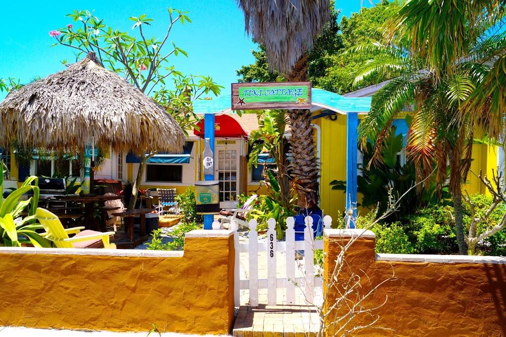 Grandview Tiki Hut Cottage - real estate agency  | Photo 1 of 7 | Address: 636 Mandalay Ave, Clearwater, FL 33767, USA | Phone: (813) 417-1218