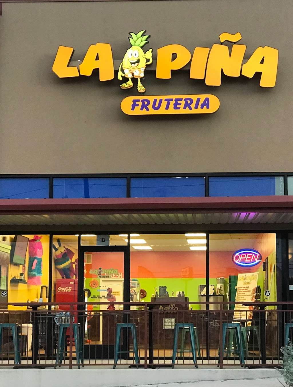 La Pina Fruteria - cafe    Photo 1 of 9   Address: 9902 Potranco Rd, San Antonio, TX 78251, USA   Phone: (210) 281-4573