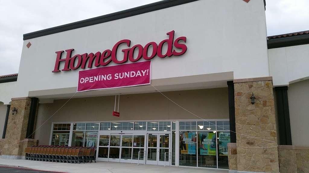 Homegoods 415 W Tx 1604 Loop S San Antonio Tx 78253 Usa