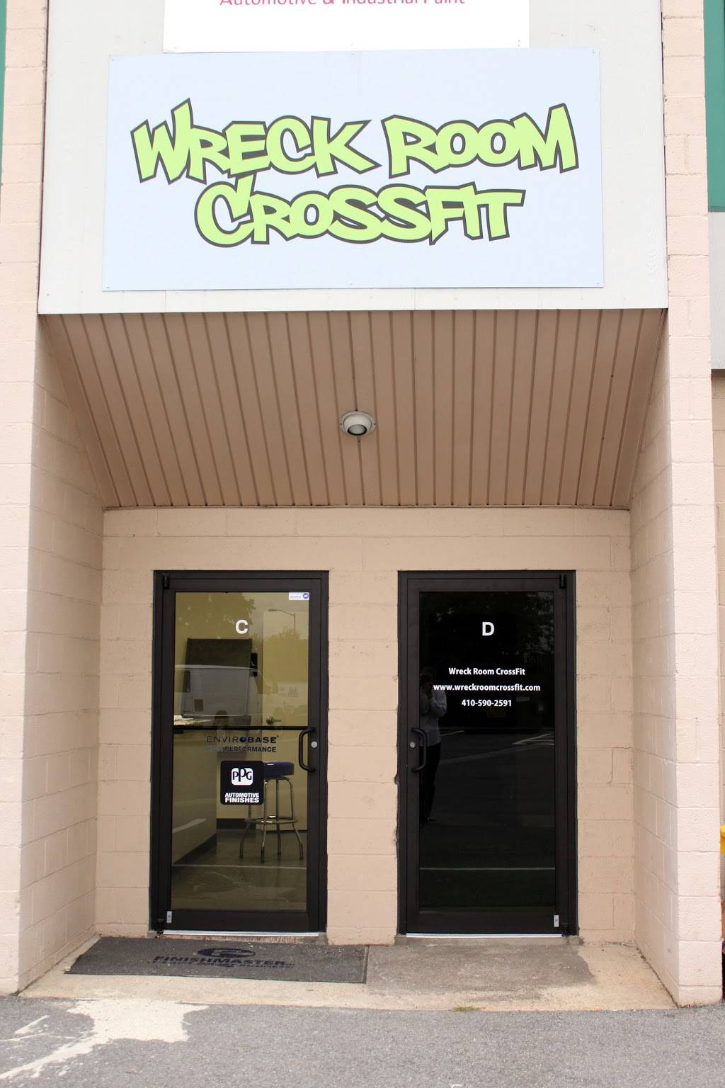 Glen Burnie Fitness and Nutrition: Home of Wreck Room CrossFit - gym  | Photo 3 of 8 | Address: 180 Penrod Ct suite d, Glen Burnie, MD 21061, USA | Phone: (443) 422-2779