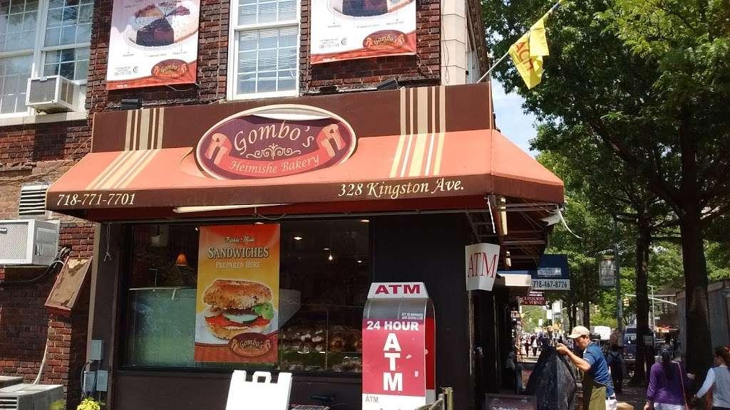 Gombos Heimishe Bakery - bakery    Photo 3 of 10   Address: 328 Kingston Ave, Brooklyn, NY 11213, USA   Phone: (718) 771-7701