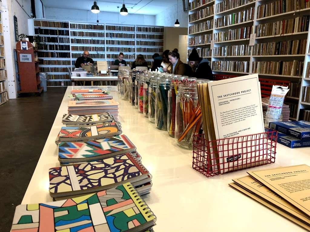 Brooklyn Art Library - library  | Photo 2 of 10 | Address: 28 Frost St, Brooklyn, NY 11211, USA | Phone: (718) 388-7941