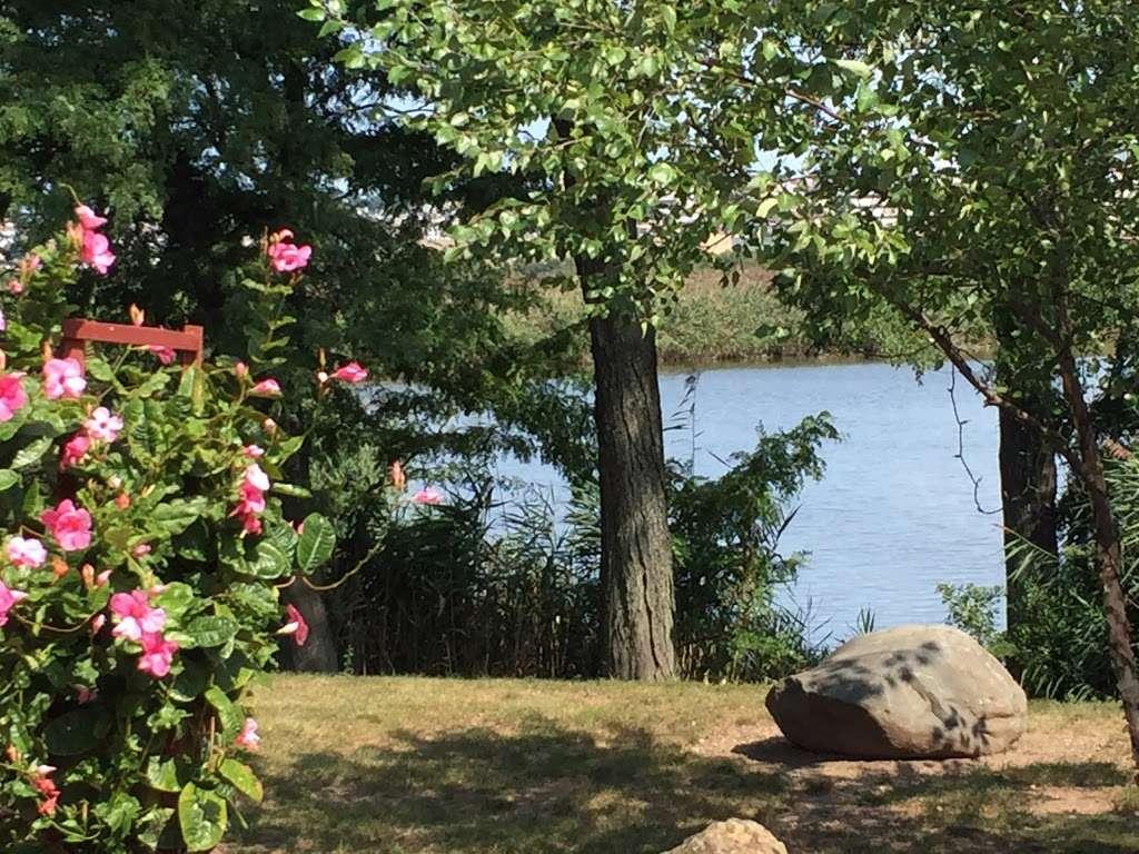 Sadhu Vaswani Meditation Garden - park  | Photo 8 of 10 | Address: 1200 Koelle Blvd, Secaucus, NJ 07094, USA
