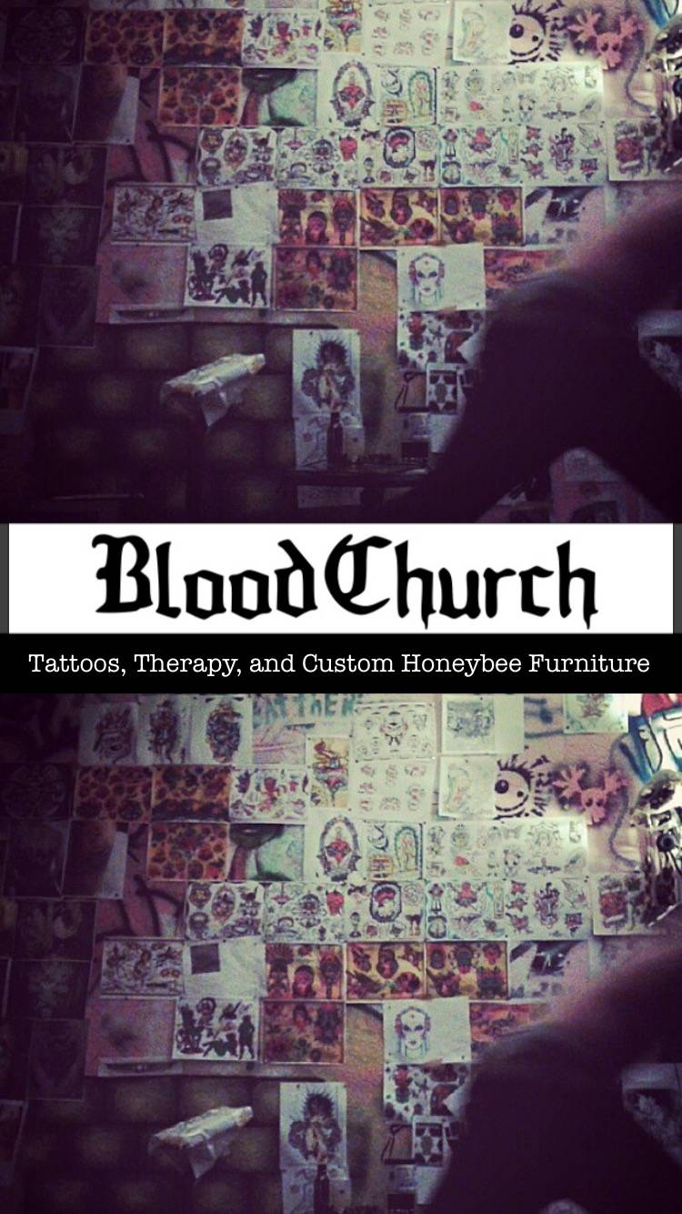 Blood Church Tattoo - store  | Photo 1 of 3 | Address: 1600 Methyl St, Pittsburgh, PA 15216, USA | Phone: (818) 290-0446