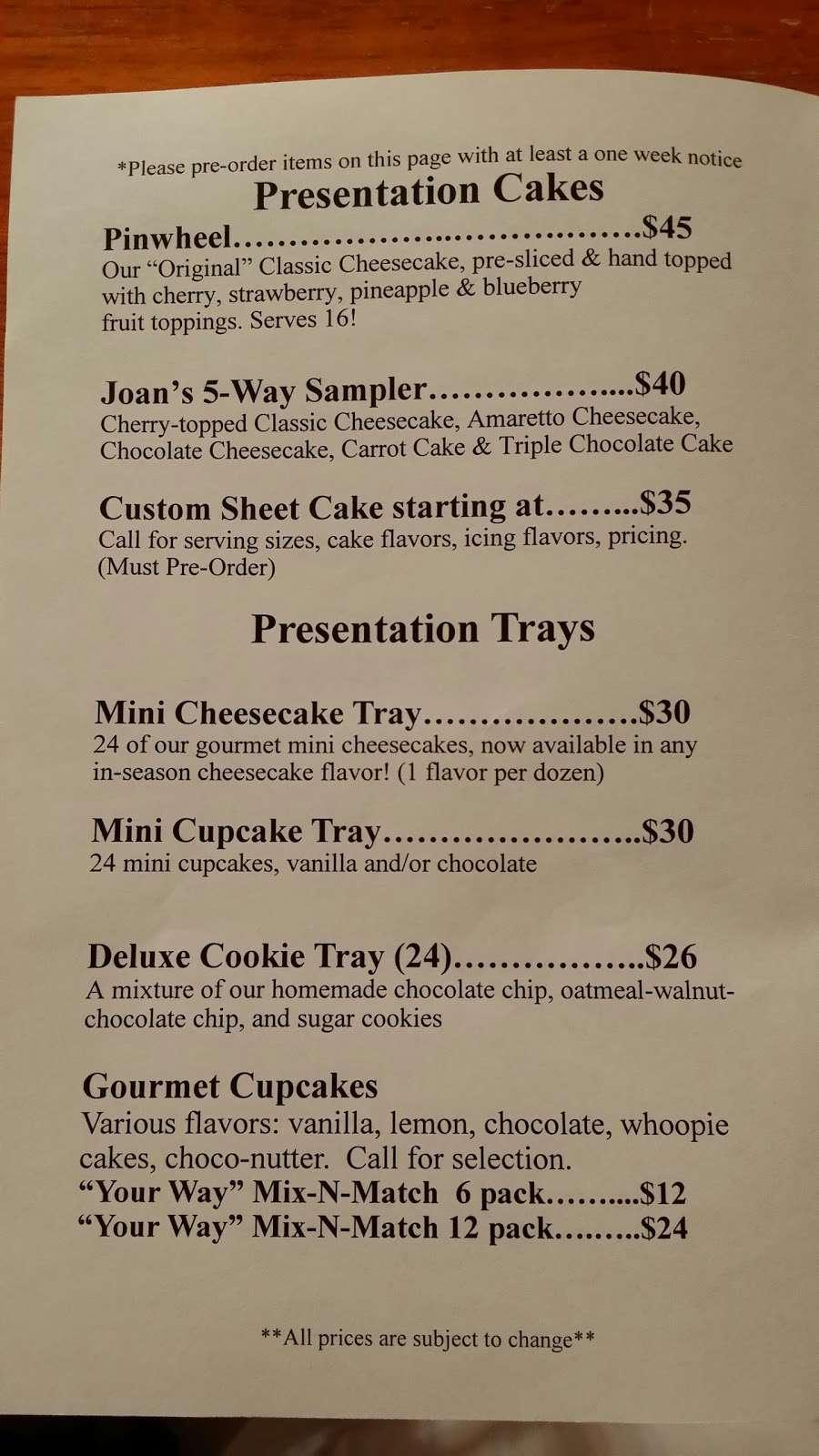 Tuckahoe Cheesecake - bakery  | Photo 10 of 10 | Address: 2177 NJ-50, Tuckahoe, NJ 08250, USA | Phone: (609) 628-2154
