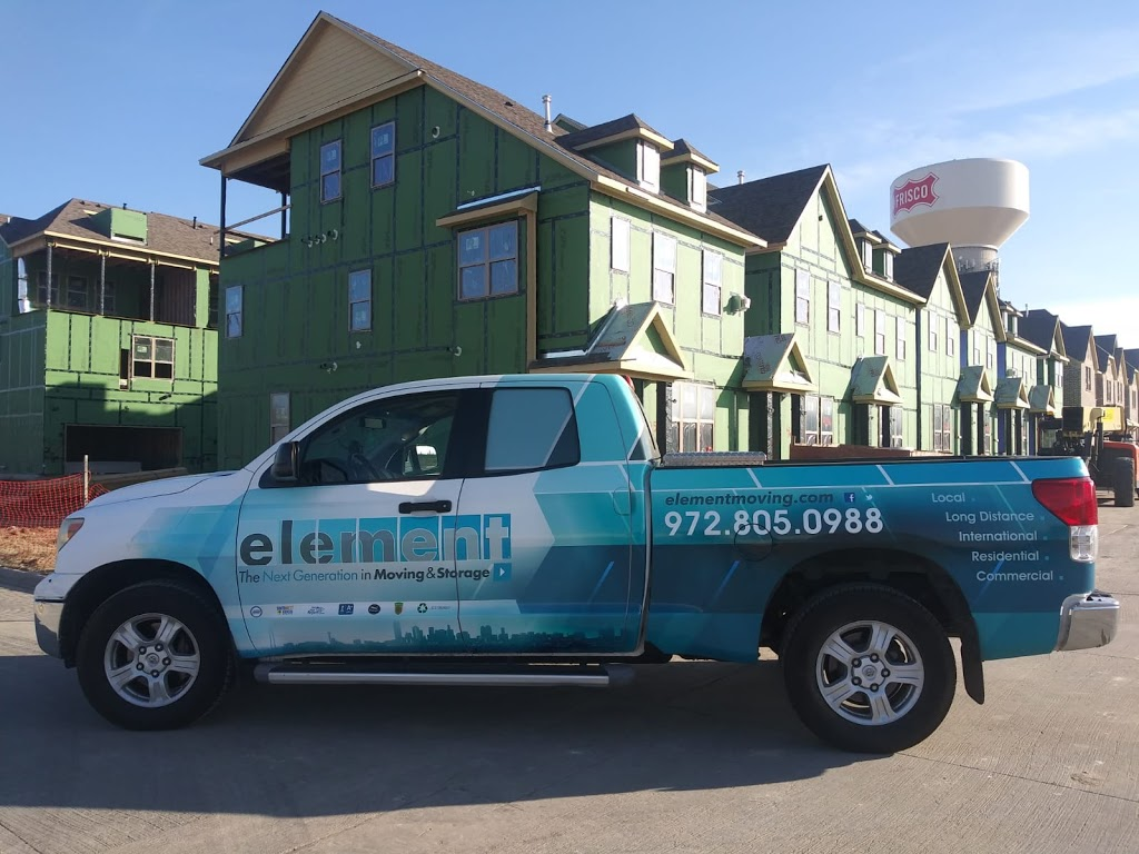 Element Moving and Storage - moving company  | Photo 4 of 5 | Address: 12011 Denton Dr, Dallas, TX 75234, USA | Phone: (972) 805-0988