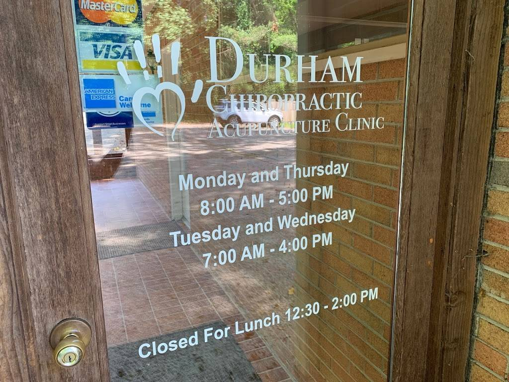 Durham Chiropractic-Acupuncture Clinic, PC - health  | Photo 9 of 10 | Address: 5201 Silas Creek Pkwy, Winston-Salem, NC 27106, USA | Phone: (336) 765-7620