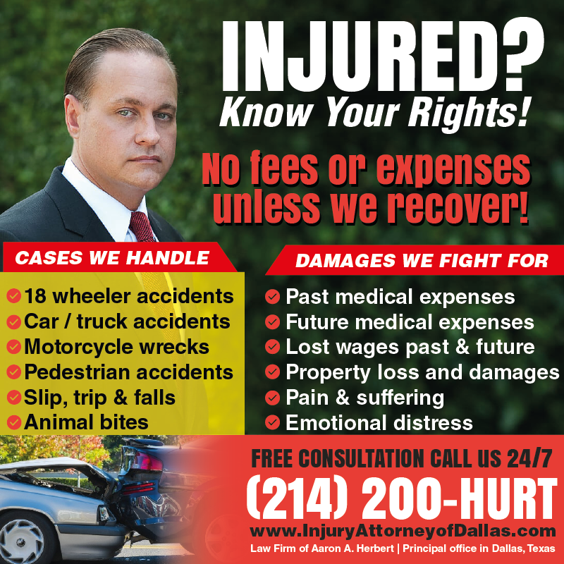Aaron A. Herbert - Personal Injury Attorney - lawyer  | Photo 6 of 10 | Address: 4200 South Fwy #412, Fort Worth, TX 76115, USA | Phone: (817) 500-4878