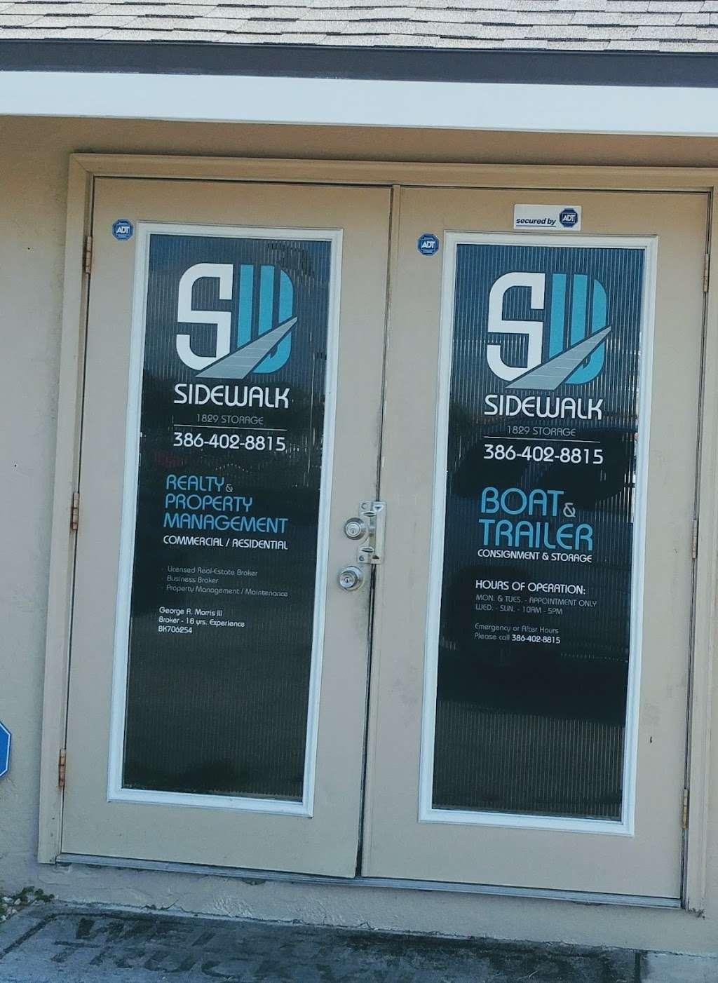 SW SIDEWALK BOAT & TRAILER STORAGE - storage  | Photo 1 of 2 | Address: US-1, Edgewater, FL 32141, USA | Phone: (386) 402-8815