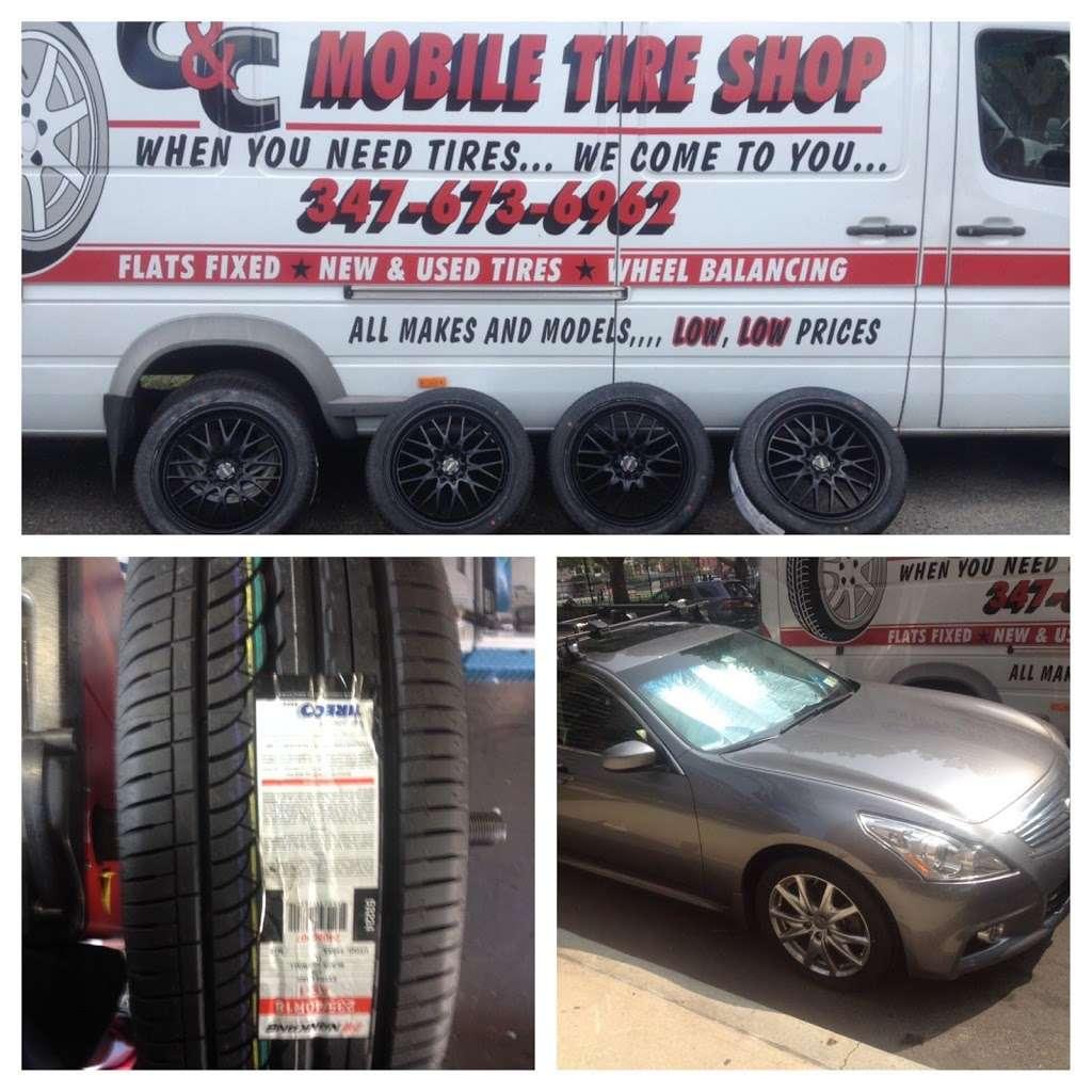 Mobile Tire Shop - car repair    Photo 9 of 10   Address: 654 Utica Ave, Brooklyn, NY 11203, USA   Phone: (347) 673-6962