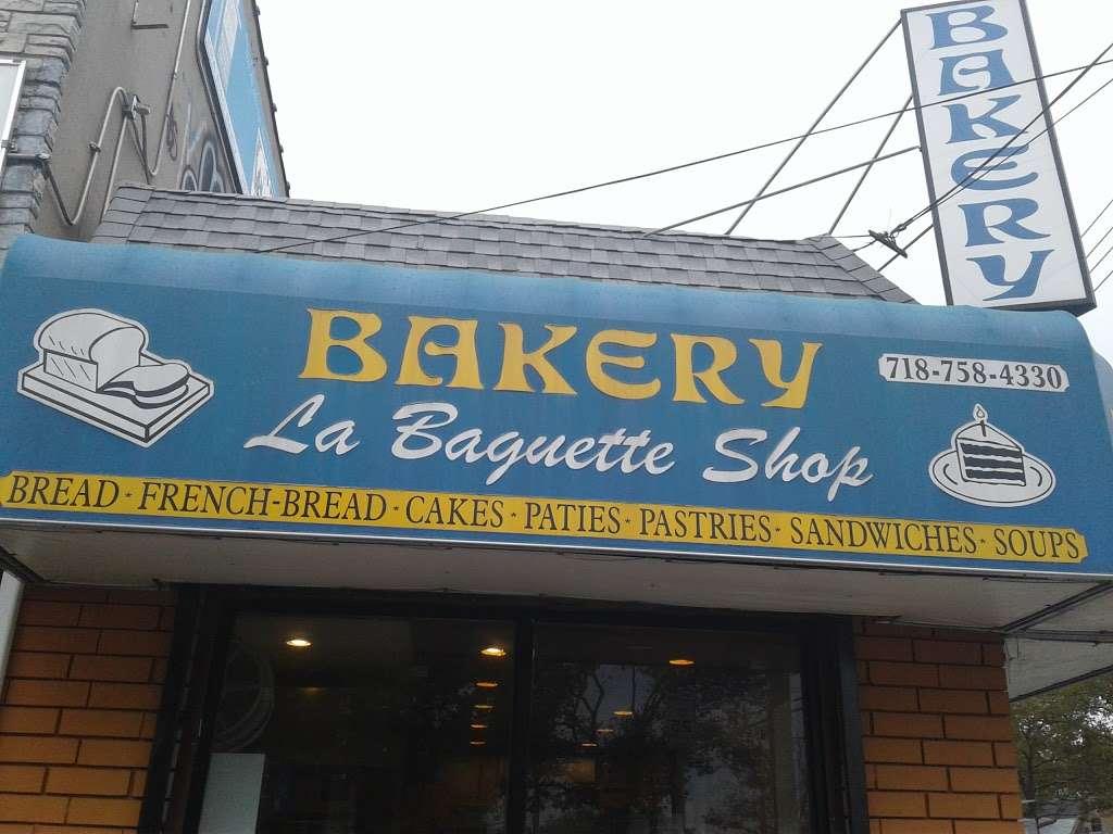 La Baguette Shop - bakery  | Photo 9 of 10 | Address: 1836 Rockaway Pkwy, Brooklyn, NY 11236, USA | Phone: (718) 758-4330