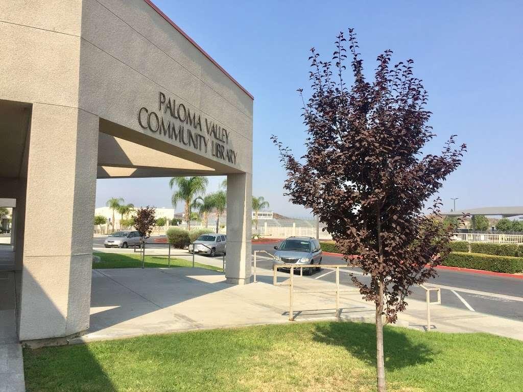 Paloma Valley Library - library  | Photo 3 of 4 | Address: 31375 Bradley Rd, Menifee, CA 92584, USA | Phone: (951) 301-3682