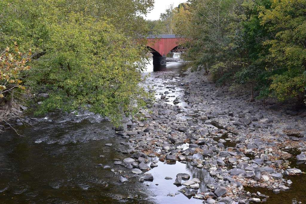 The Tohickon Creek At the Point Pleasant Bridge - park  | Photo 10 of 10 | Address: River Rd, Pipersville, PA 18947, USA