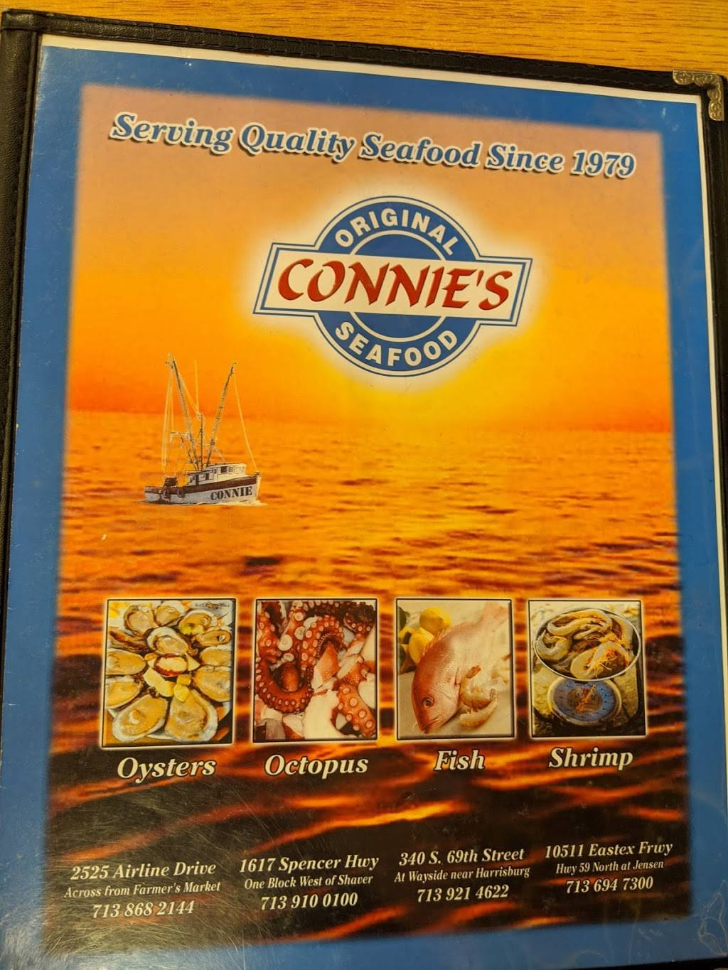 Connies Seafood Market & Restaurant - restaurant  | Photo 5 of 20 | Address: 2525 Airline Dr, Houston, TX 77009, USA | Phone: (713) 868-2144