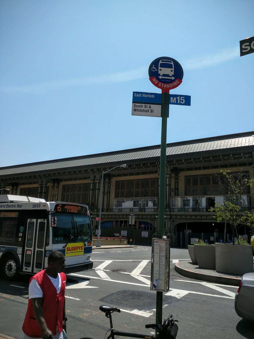 South St/whitehall St - bus station  | Photo 2 of 4 | Address: New York, NY 10004, USA