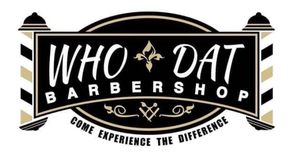 WHO DAT BarberShop Inc. - hair care  | Photo 5 of 10 | Address: 5741 Crowder Blvd a8, New Orleans, LA 70127, USA | Phone: (504) 246-4446