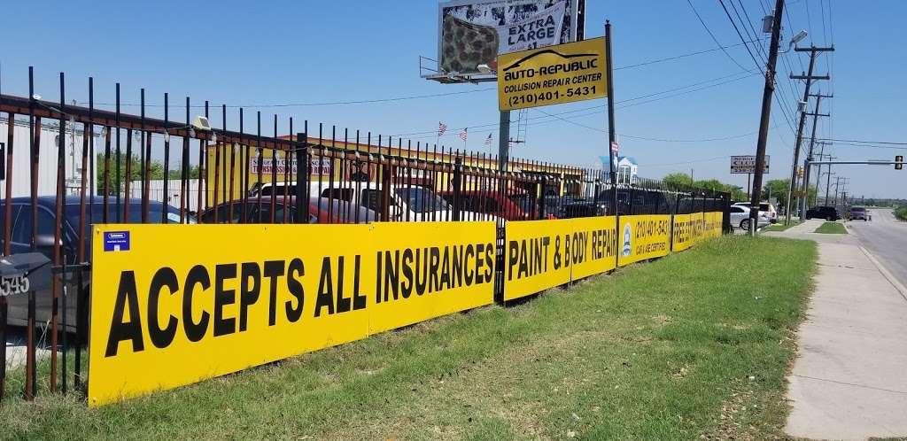 Auto-Republic Collision Repair Center - car repair  | Photo 4 of 10 | Address: 6545 Walzem Rd, San Antonio, TX 78239, USA | Phone: (210) 401-5431