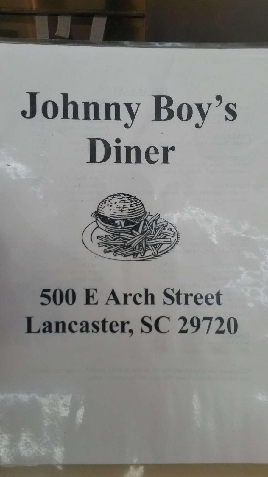 Johnny Boys Diner - restaurant  | Photo 4 of 6 | Address: 500 E Arch St, Lancaster, SC 29720, USA | Phone: (803) 283-0661