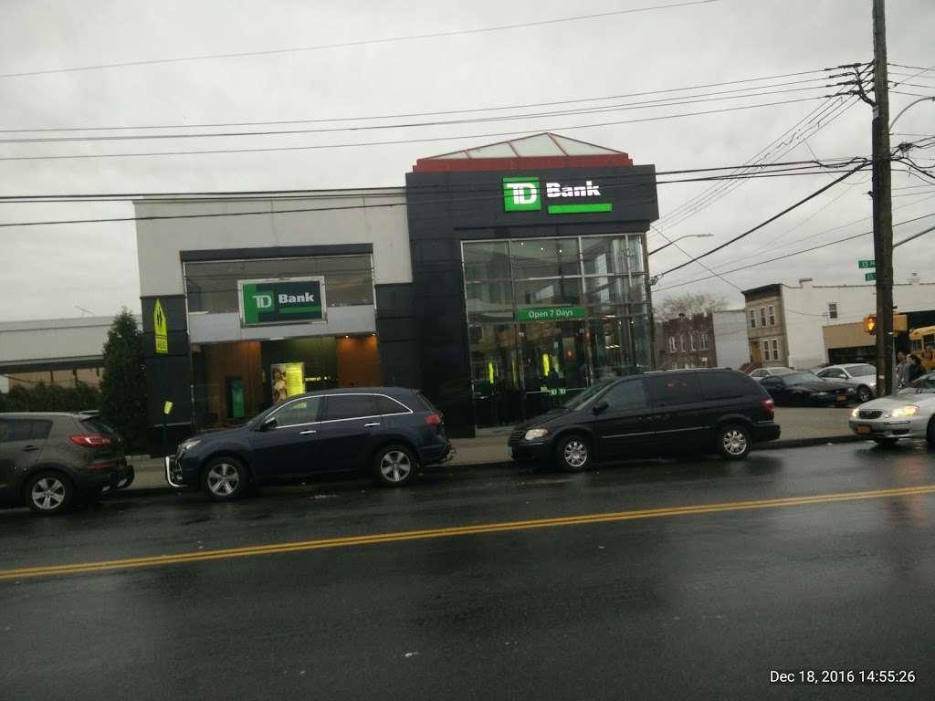 TD Bank - bank    Photo 1 of 5   Address: 1301 65th St, Brooklyn, NY 11219, USA   Phone: (718) 232-0039