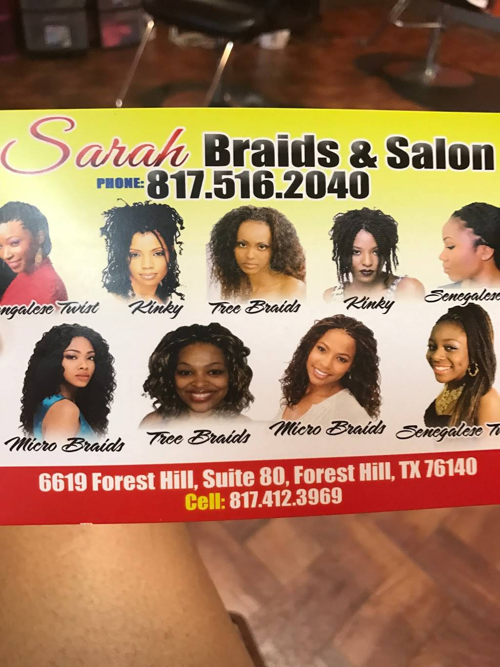 Graces African Hair Braiding - hair care    Photo 4 of 4   Address: 6619 Forest Hill Dr, Fort Worth, TX 76140, USA   Phone: (817) 400-4255