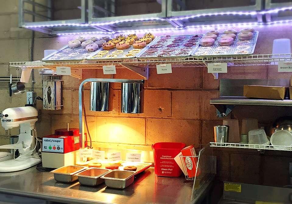 Underwest Donuts - bakery    Photo 6 of 10   Address: 638 W 47th St, New York, NY 10036, USA   Phone: (212) 317-2359