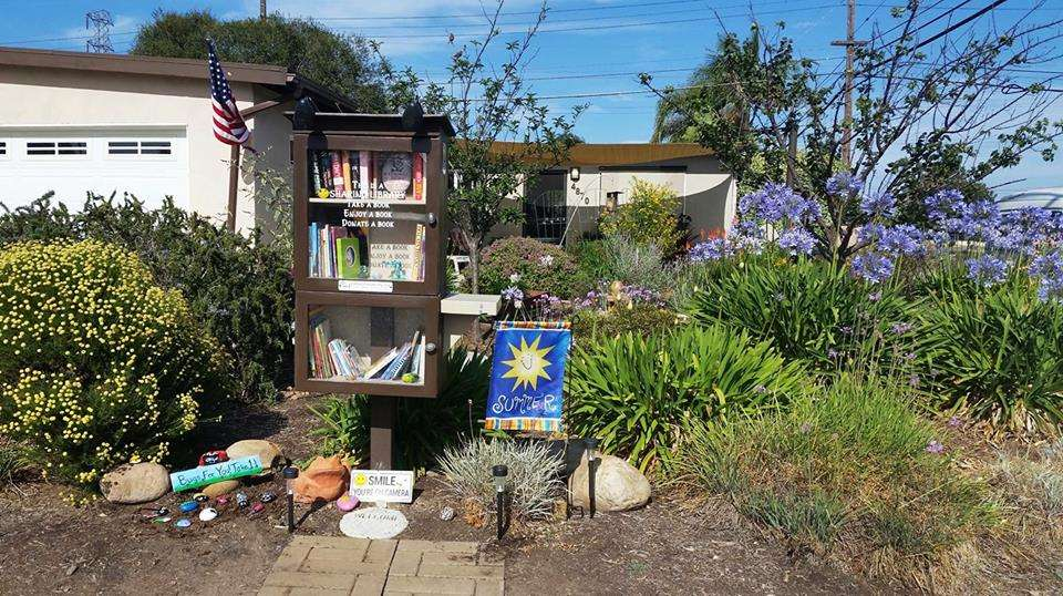 Corner Garden Little Free Library - library  | Photo 2 of 2 | Address: 4870 Conrad Ave, San Diego, CA 92117, USA
